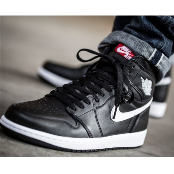 jordan 1 yin yang black on feet